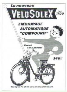 Publicité Solex 1700 embrayage