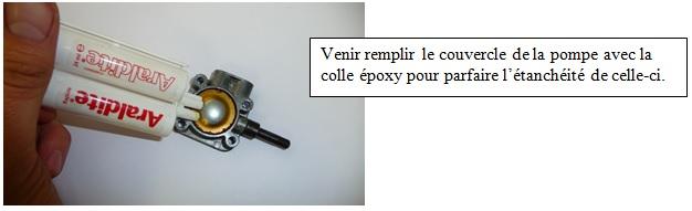 colle capot pompe essence Solex