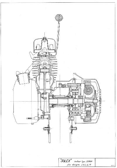 nomenclature moteur solex 3800
